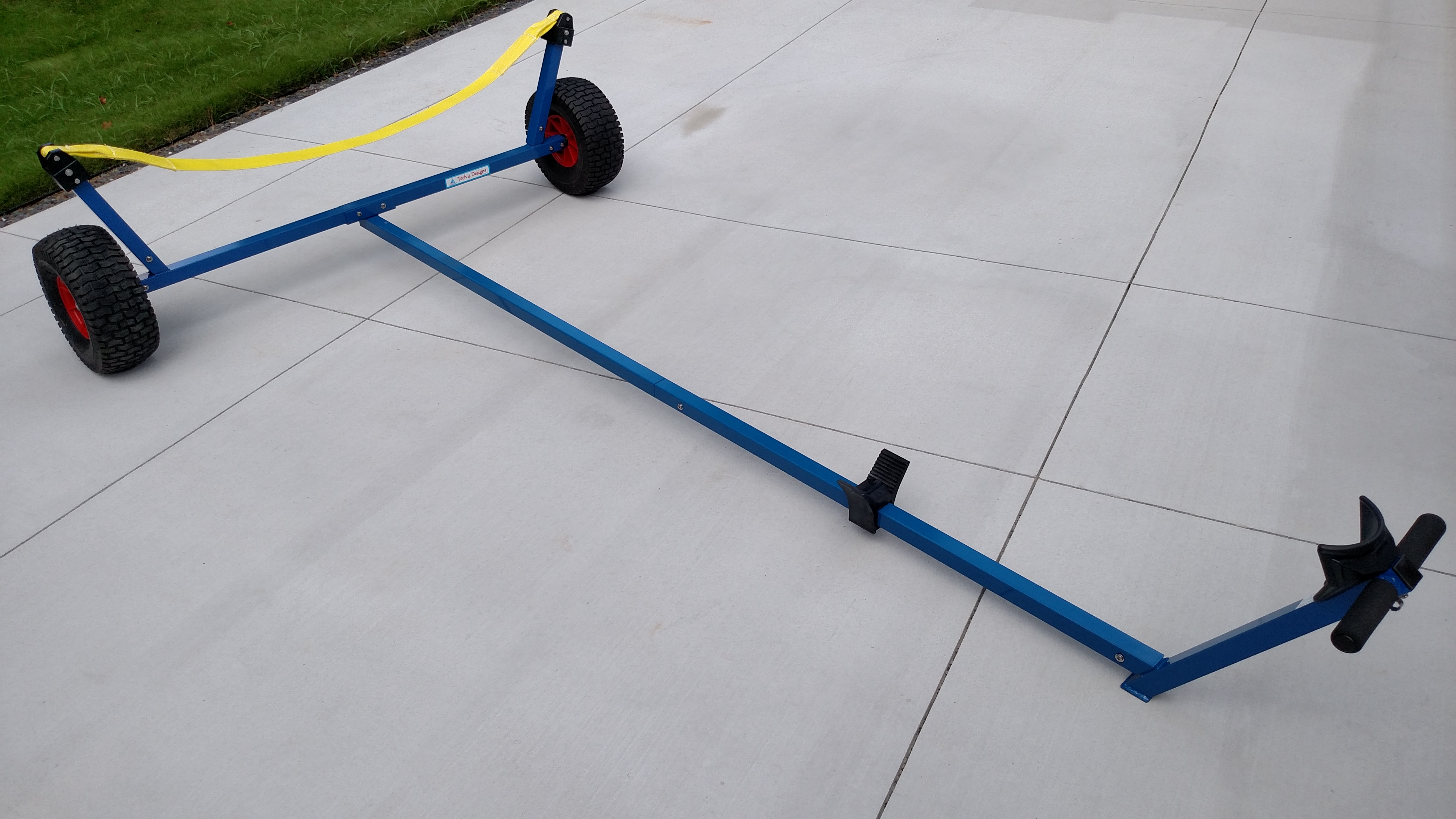 Laser Dolly with Beach Wheels