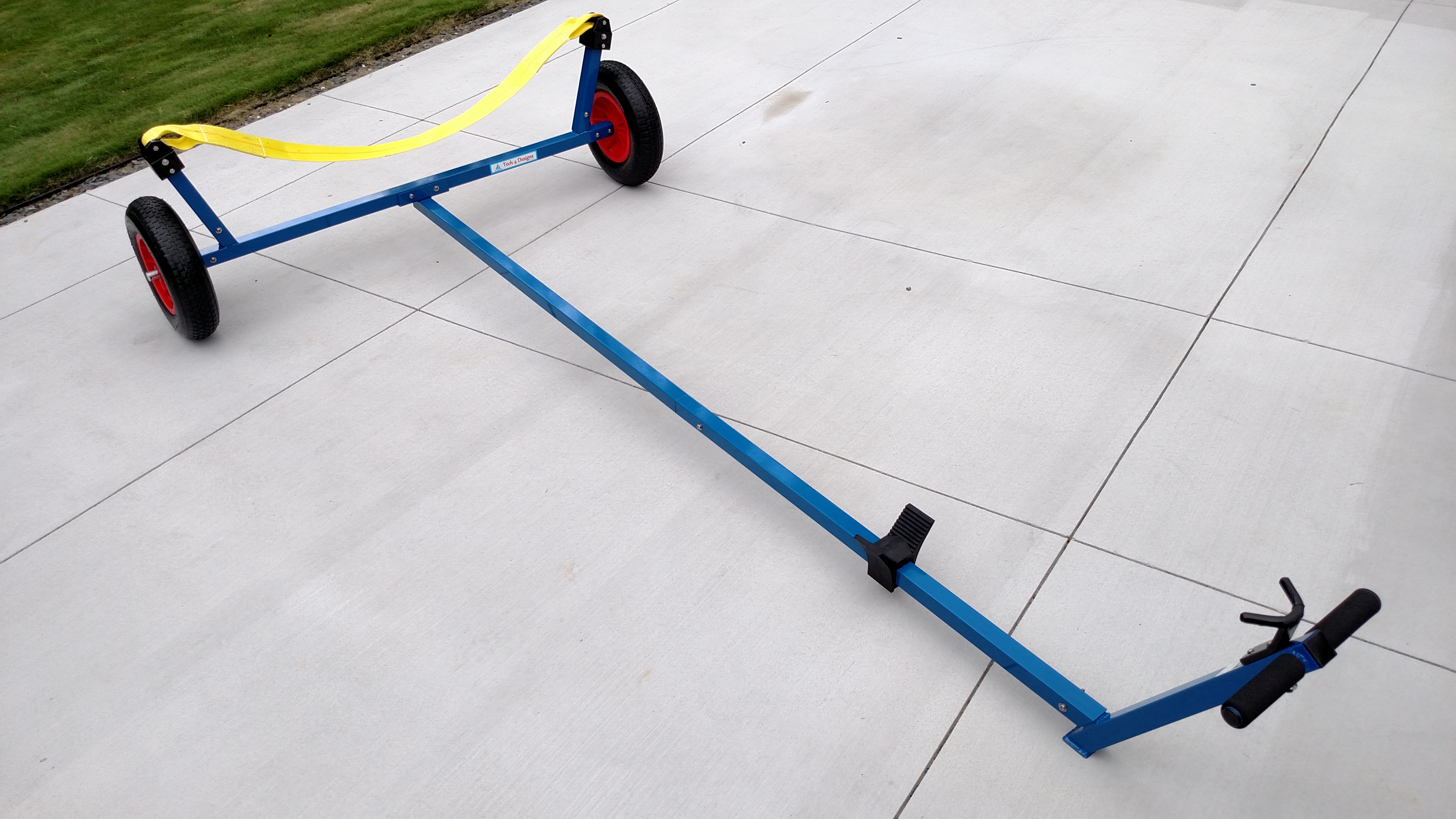 Sunfish Dolly with Ramp Wheels